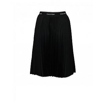 Calvin Klein Womenswear Sunray Pleat Midi Skirt