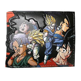 Dragon Ball Z Character Bi-Fold Wallet