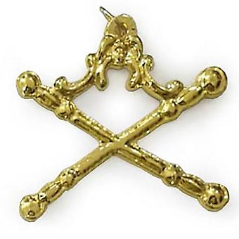 Masonic gold regalia collar jewel - marshal