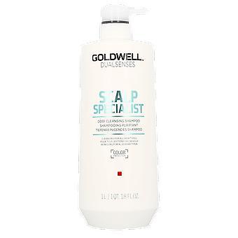 Goldwell päänahan asiantuntija syväpuhdistavaa shampoota 1000ml
