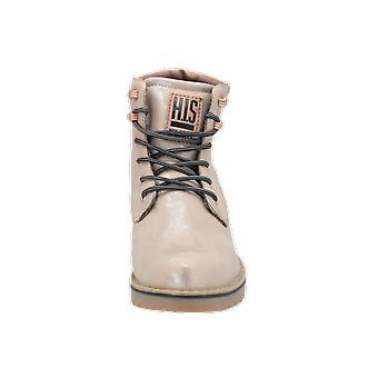 H.I.S SCHNÜRSTIEFELETTE Women's Boots Gold Lace-Up Boots Winter