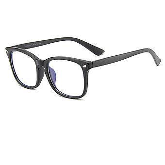 2 pcs vision flat glasses Anti-blue light frame glasses