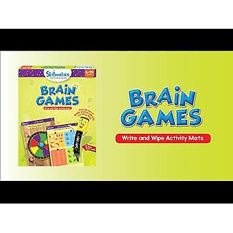 Skillmatics Brain Games Write & Wipe Activity Pack Ages 6 Years+