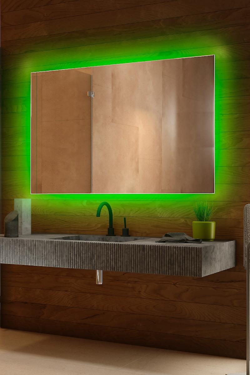 RGB audio rétro-éclairé capteur de miroir, rasoir Socket k714BLrgbaud