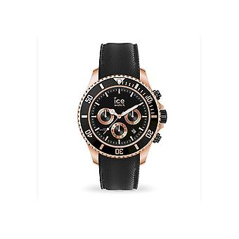 Ice Watch Wristwatch Unisex ICE steel Black Rose-Gold Large CH 016305