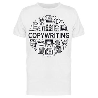 Copywriting Tools Tee Men's -Image by Shutterstock