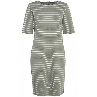b.young Sea Green Stripe Dress