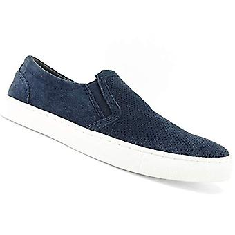 Bar III Mens Brant Slip-On Sneakers Navy 11.5 M