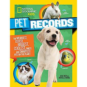 Pet Records by Julie Beer - 9781426337352 Book
