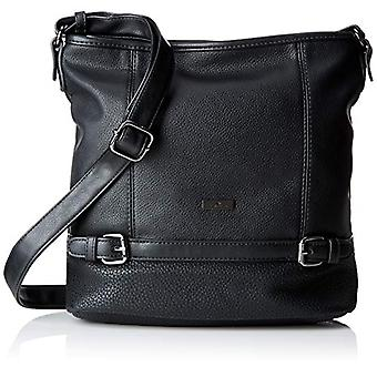 Tom Tailor Acc Juna - Black Women's Tote Bags (Schwarz) 30x28x10 cm (B x H T)