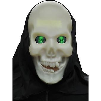Hologram glöd skalle för Halloween