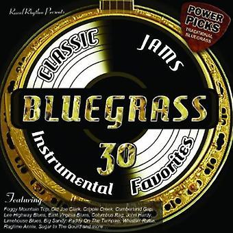 Bluegrass Classic Jams  Power Picks: 30 - Bluegrass Classic Jams Power Picks: 30 [CD] USA import