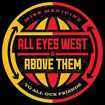 All Eyes West/Above Them - Split [Vinyl] USA import