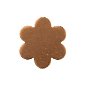 Copper Blanks Small Daisy Pack of 6 14mm