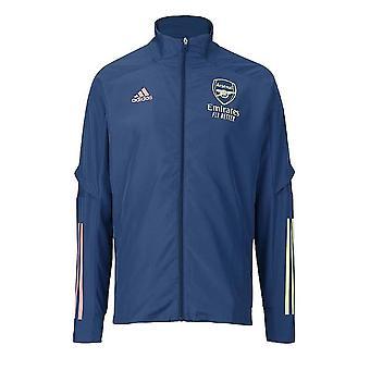 2020-2021 Arsenal Adidas Prezentační bunda (Indigo) - Děti