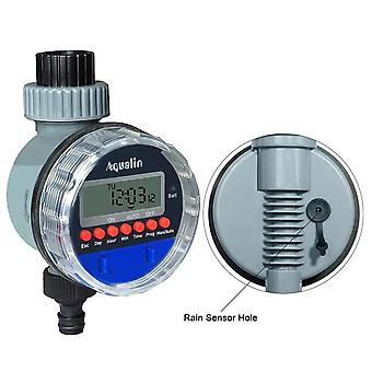 Electronic LCD Display Automatic Watering Timer Home Garden Ball Valve Irrigation Controller