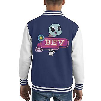 Littlest Pet Shop Bev Smile Kid's Varsity Jacket