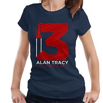 Thunderbirds grote 3 grafische vrouwen ' s T-shirt