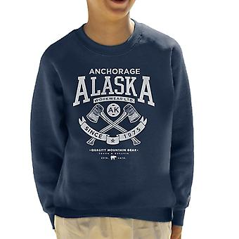London Banter Alaska Axe logo Kid ' s camisola