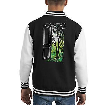 Gresset er grønnere Kid's Varsity Jacket