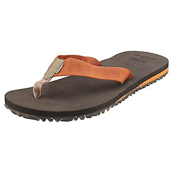 Toms Lagoon Mens Beach Sandals in Caramel