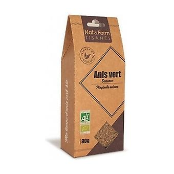 Green anise herbal tea organic seed 90 g