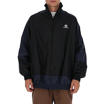 Balenciaga 623019tio544100 Herren's Blaue Polyester Outerwear Jacke