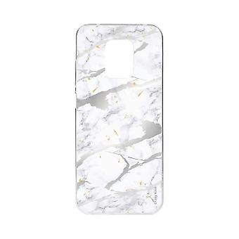 Hull For Xiaomi Redmi Note 9 Pro Soft Marble Grey