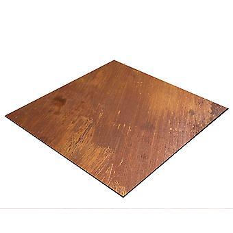 BRESSER Flatlay Baggrund til æglæggende billeder 60x60cm rust