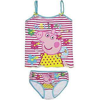 Peppa pig biancheria intima set top e slip
