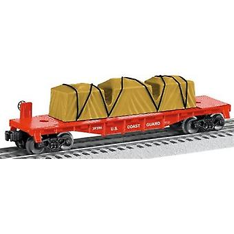 LIO39396, US MADE COAST GUARD FLATCAR 70 DOLLARI