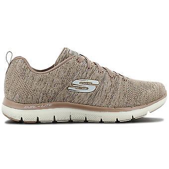 Skechers فليكس نداء 2.0 -- الطاقة العالية -- أحذية نسائية البيج 12756 - TPNT أحذية رياضية