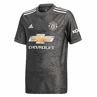 2020-2021 Man Utd Adidas Away Football Shirt (Kids)