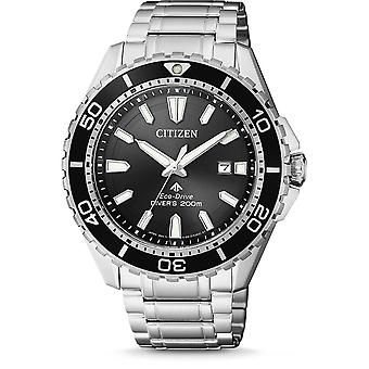 Citizen Watches Bn0190-82e Mens Eco-drive Promaster Diver Silver Stainless Steel Watch