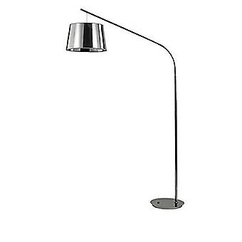 Ideal Lux Daddy - 1 Light Floor Lamp Chrome, E27