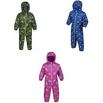 Regatta Baby Unisex Pobble Printed Rainsuit