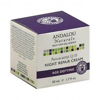 Andalou - Reservatol Q10 nuit réparation crème 50ml