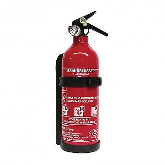 fire extinguisher ABC with manometer 1 kg red 31 cm