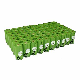 Micron Large Earth Friendly Dog Poop Sacs poubelles, Distributeurs d'ordures, Ordures