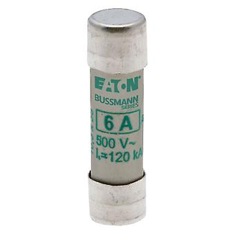 Bussman C10M6 6A AM 500Vac 10x38mm Cylindrical Fuse