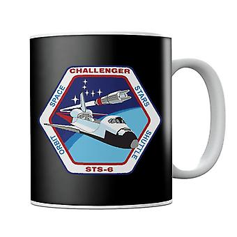 NASA STS 6 rumfærge Challenger Mission Patch krus