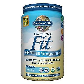 Garden of Life Raw Organic Fit, Vanilla 32.2oz