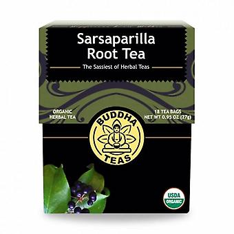 Buddha Teas Sarsaparilla Root Tea, 18 Bags