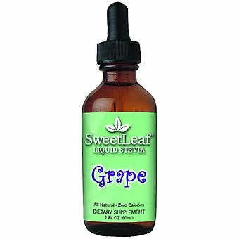 Sweetleaf Stevia SweetLeaf Liquid Stevia, Grape 2 Fl Oz