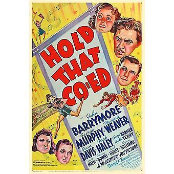 Halten, dass Co-Ed-Film-Poster (11 x 17)