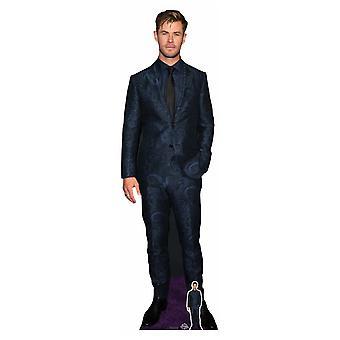 Chris Hemsworth Blue Suit Celebrity Lifesize Cardboard Cutout / Standee