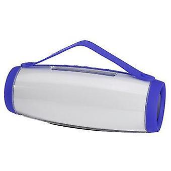 Bærbar bluetooth trådløs højttaler Farverig LED Light FM Radio TF-kort