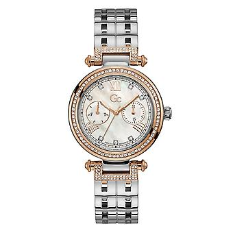 GC Y78003L1MF Primechic Two Tone Day Date Wristwatch