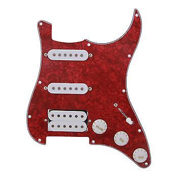 Bedrade gitaarplaat SSH Geladen Voorbedrade Pickguard Kit voor instrumenten