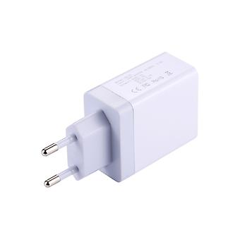 PD-01 2.4A USB Output Smart Travel Wall Charger Adapter, EU Plug, For iPad , iPhone, Galaxy, Huawei, Xiaomi, LG, HTC and Other Smart Phones, Rechargea